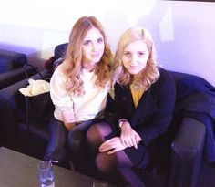 With Chiara Ferragni in Moscow #fashionblogger #celebrity #me