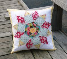Tessellation Pillow by Dee'sDoodles, via Flickr