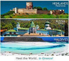Meet the world.. in GREECE!