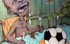 Il Murales più famoso del mondo è quello in Brasile contro i Mondiali 2014
