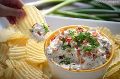 Crack Dip from What the Fork Blog - yep, it's addictive. Hello bacon!