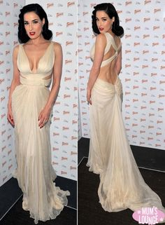 Aliexpress.com : Buy Celebrity Dresses Dita von Teese Stunning ...