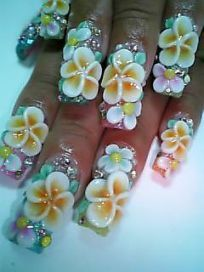 10 Lessons Ive Learned From Plumeria Flower Nail Art Plumeria Flower Nail Art Art Flower Ive Learned Lessons Na In 2020 Flower Nails Flower Nail Art Floral Nails