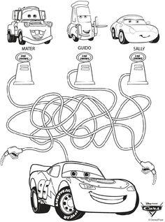 26 Mejores Imagenes De Cars Para Colorear Disney Coloring Pages
