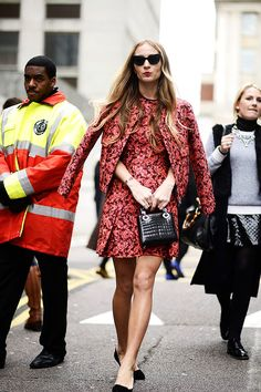 Street style Londres London Fashion Week otono invierno 2014