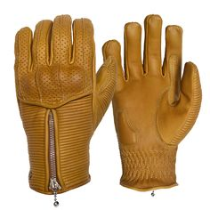 Goldtop Silk Lined, Ribbed and Armoured Raptor Summer Motorcycle Gloves in Sand … Goldtop Silk Lined, Ribbed and Armoured Raptor Summer Motorcycle Gloves in Sand / Camel / Tan Leather with Zip Summer Motorcycle Gloves, Biker Gloves, Leather Motorcycle Gloves, Cowhide Leather, Tan Leather, Rap, Vintage Cafe Racer, Gold Top, Mens Fashion