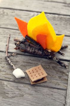 WhiMSy love: Summer Diary Day 34: Mini Campfire & Accessories - Tutorial