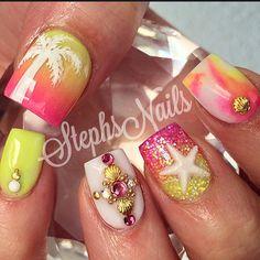 Stephanie Rochester @_stephsnails_ SunsetCruise #whi...Instagram photo | Websta (Webstagram)