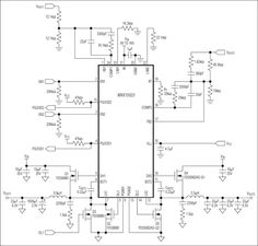 The MAX15023 dual, synchronous step-down controller operates from a 5.5V to 28V or 5V ±10% input voltage range and generates two independent output voltages.