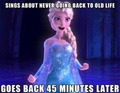 Funny Disney Memes Frozen Elsa 53 Ideas What's April why is it Disney Memes, Disney Princess Memes, Funny Disney Jokes, Disney Facts, Funny Cartoons, Disney Princesses, Pocket Princesses, Disney Quotes, Disney Characters