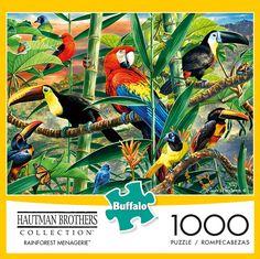 Rainforest Animals, Safari Animals, City Of Columbus, Red Eyed Tree Frog, Buffalo Games, Animal Puzzle, New Puzzle, Tree Frogs, Christmas Animals