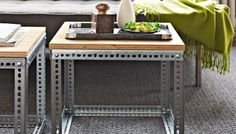 15 Beautiful DIY Coffee Tables - I feel like a few of these could be up-scaled to make work tables of inking tables.