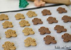 Bubble and Sweet: Gingerbread Cookie recipe