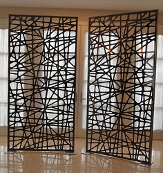 Items similar to Paper yarn wall art by Helena Kinnunen on Etsy House Design, Relaxation Room, House Styles, House Skirting, Sweet Home Style, Diy Room Divider, House Front Design, Wall Paneling, Room Partition Designs