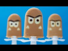 SUPER MARIO GOOMBA POPSICLES - NERDY NUMMIES - YouTube