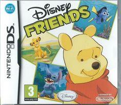 Nintendo DS Disney's Friends (plays 3ds in 2D) kids game