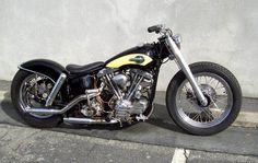 1959 Shovelhead FU swingarm custom by Timebandit, right side
