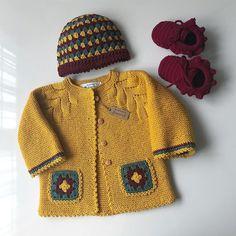 Çok beğendiğiniz ve harika yorumlar bıraktığın. Baby Boy Knitting Patterns, Knitting For Kids, Free Knitting, Crochet Baby, Knit Crochet, Diy Clothes, Clothes For Women, Baby Pullover, Yellow Cardigan