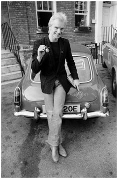 Sting and his MGB GT