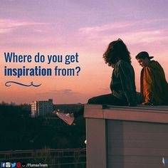 Where do you get inspiration from? Nature? Books? Friends? Music? Movies? LEAVE YOUR COMMENT BELOW!        #Plumaa #WhatsYourPassion