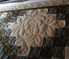 I think I may need this - what a great way to quilt an Irish chain!