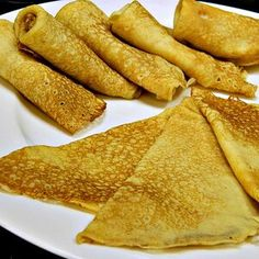 Swedish Pancakes, Thin Pancakes, Skinny Pancakes, Danish Pancakes, Swedish Recipes, Swedish Foods, Swedish Cuisine, Quick And Easy Breakfast, Original Recipe