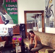 En casa de Emily Ratajkowski