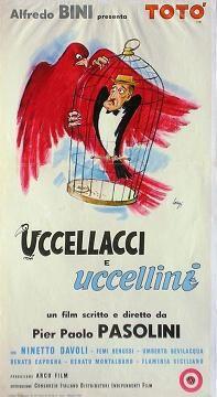 Uccellacci e uccellini4 Film Movie, Cinema Film, Cinema Posters, Film Posters, My Life Movie, Pier Paolo Pasolini, Italian Posters, Dramatic Arts, Film Director