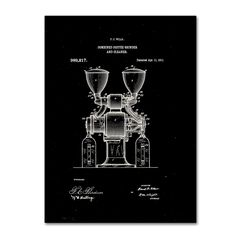 Claire Doherty ' Grinder Patent 1911 Black' Wall Art