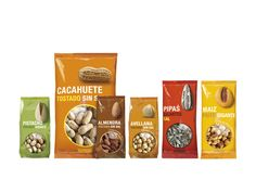 Frutos Secos Hacendado on Packaging of the World - Creative Package Design Gallery