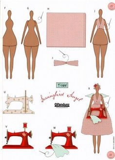Mimin Dolls: Tilda Seamstress - 2