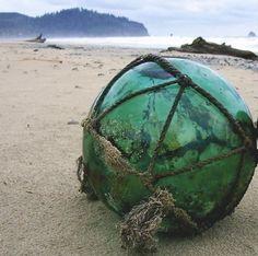 bucket list...discover a japanese glass float on the beach