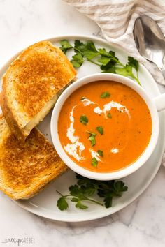 Tomato Soup Recipes, Easy Soup Recipes, Lunch Recipes, Casserole Recipes, Easy Dinner Recipes, Vegetarian Recipes, Easy Meals, Cooking Recipes, Healthy Recipes