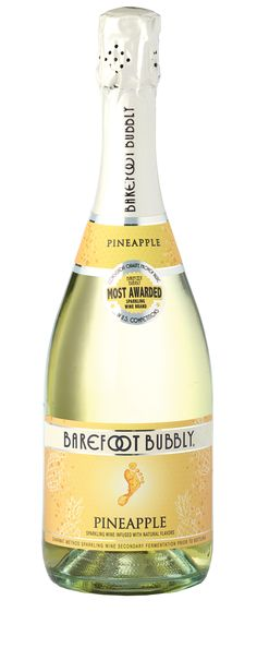 Barefoot Bubbly Pineapple | Sweet Fruity Sparkling Wine
