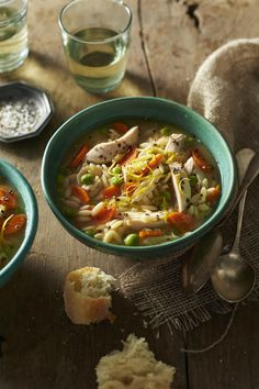 Slow-Cooker Soups and Stews: Lemon Chicken Soup