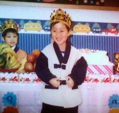 J-Hope in childhood days