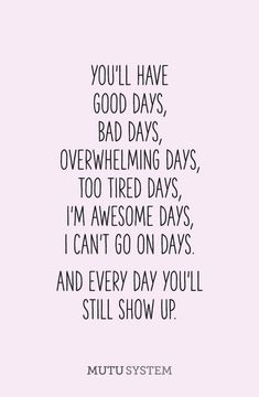 Every day we still show up. #mentalhealth #coping
