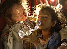 Humanitarian Aid, work to save people's lives, ease their pain and suffering, and preserve human dignity.