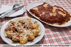 Cantina Bella Donna (jantar)    Filé Mignon à Parmeggiana com Capeletti ao molho sugo