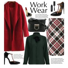 How To Wear Work Wear (office style) Outfit Idea 2017 - Fashion Trends Ready To Wear For Plus Size, Curvy Women Over 20, 30, 40, 50