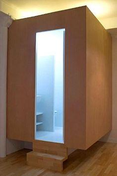 Une salle de bains spatiale - design et architecture intérieure par Gaelle Le Boulch - photo 1