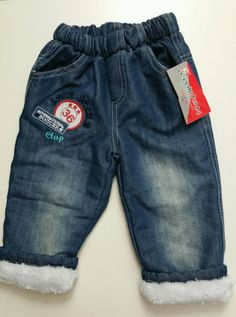 Emirhan Toddler Denim Pants Soft Fleece Inside Baby Boy Outfit Clothes Size 2T #Emirhan #Pants