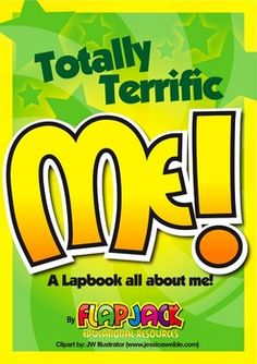 Totally Terrific Me Lapbook By FlapJack Educational Resources
