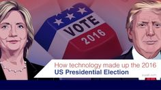 How did technology influence 2016 US Presidential Election? Check out this slideshare link to learn how technology plays its role well in the US Presidential campaigns and results.
