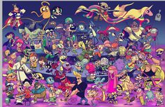 Group photo of Cartoon Network characters. Group photo of Cartoon Network characters. Cartoon Crossovers, Cartoon Memes, Cartoon Shows, Cartoon Kunst, Cartoon Drawings, Cartoon Art, Time Cartoon, What A Cartoon, Cartoon Illustrations