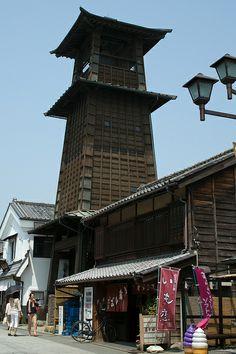 Bell Tower, Kawagoe, Saitama, Japan