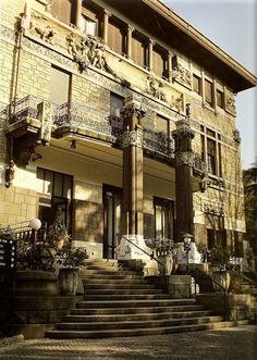 Modern Style in Italy - Architecture - Lombardia - Milano Liberty, Palazzina Faccanoni, villa Romeo