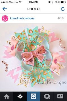 Want fantastic hints regarding making bows? Head out to this fantastic info! Baby Hair Bows, Ribbon Hair Bows, Bow Hair Clips, How To Make A Ribbon Bow, Princess Hair Bows, Baby Hair Accessories, Making Hair Bows, Ribbon Crafts, Girls Bows