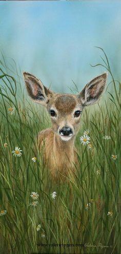 wildlife art | Acrylic on Canvas -Wildlife Art Paintings of North American Wildlife ...