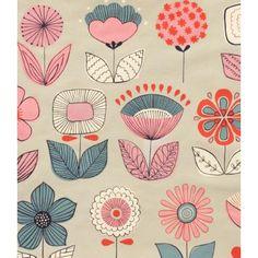 Urban Garden Grey - Stitchbird Fabrics - Gorgeous contemporary, retro and vintage fabrics